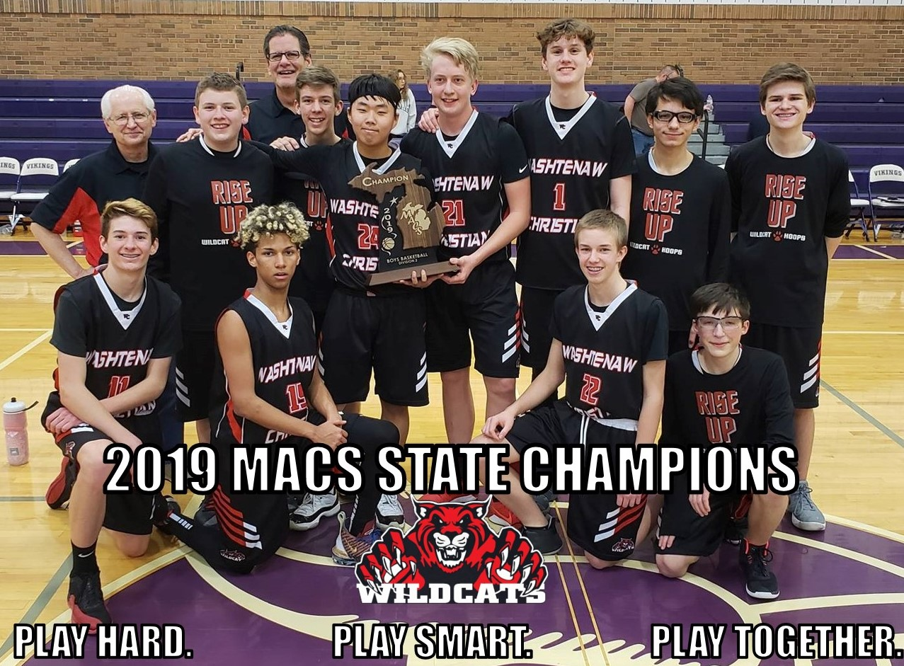 2019 MACS STATE CHAMPIONS