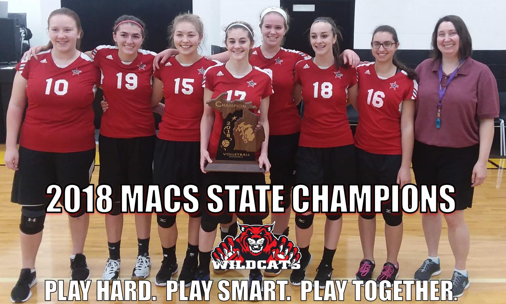 2018 MACS State Champions