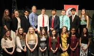 National Honor Society Members 2018
